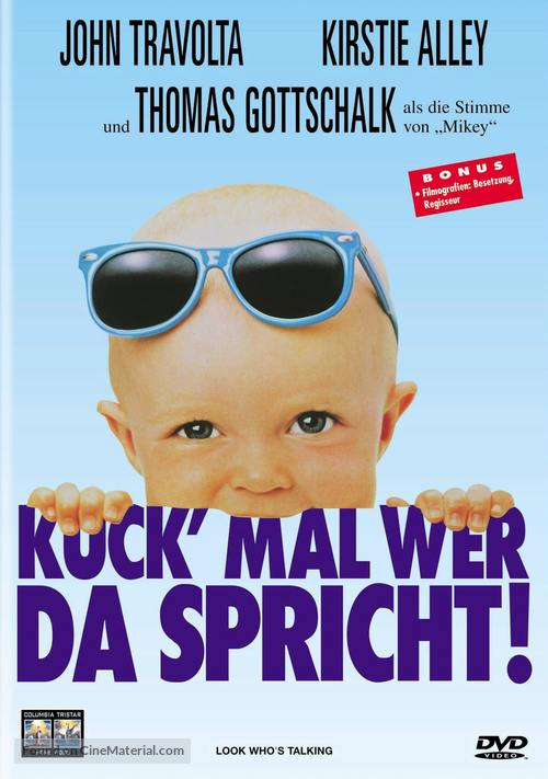 Look Who's Talking - Swiss Movie Cover