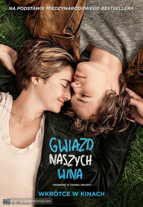 The Fault in Our Stars - Polish Movie Poster
