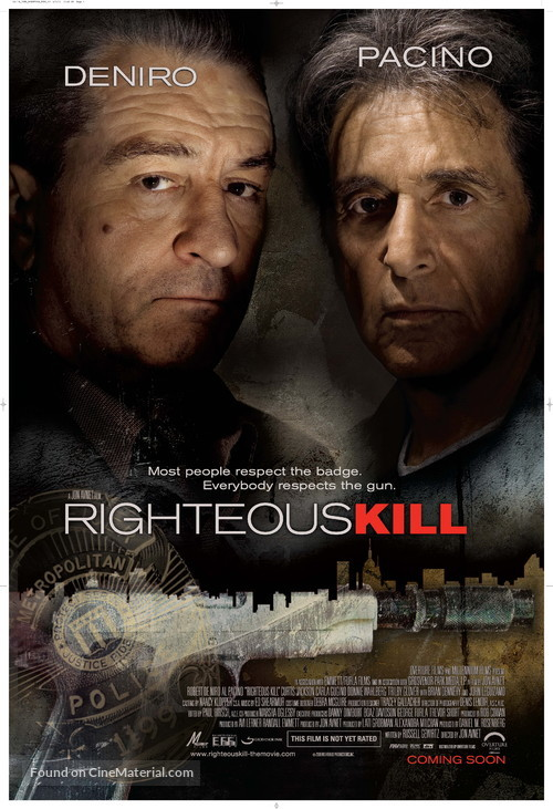 Righteous Kill - Movie Poster
