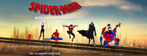 Spider-Man: Into the Spider-Verse - Norwegian Movie Poster