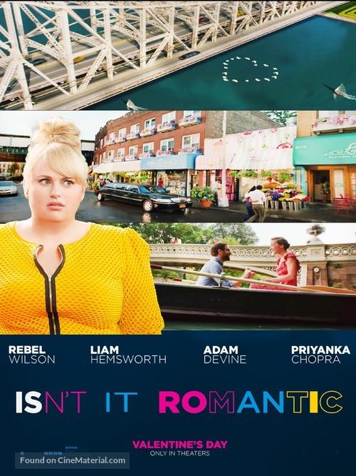 Isn't It Romantic - Movie Poster