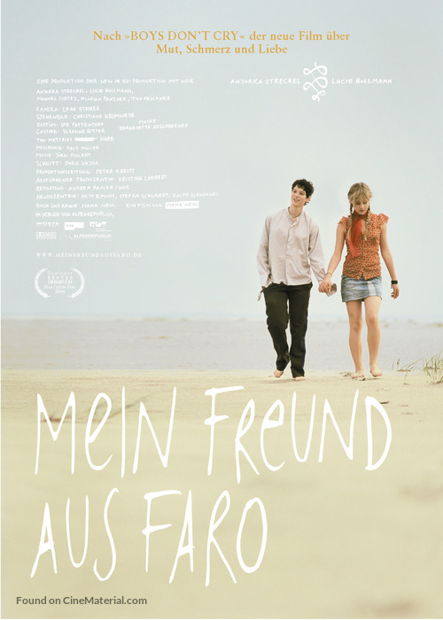 Mein Freund aus Faro - German Movie Poster