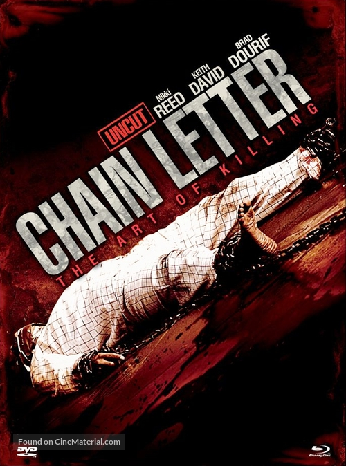 Chain Letter - German Blu-Ray movie cover
