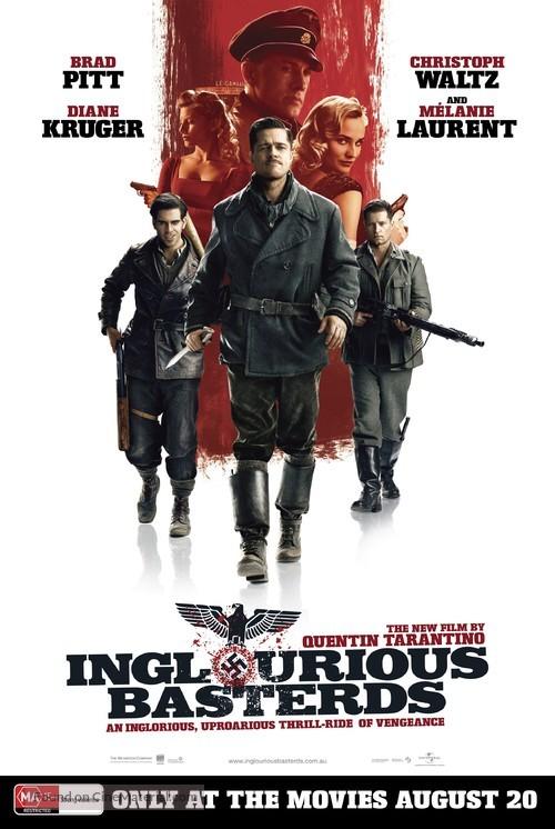 Inglourious Basterds - Australian Movie Poster
