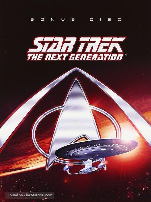 """Star Trek: The Next Generation"" - British DVD cover"