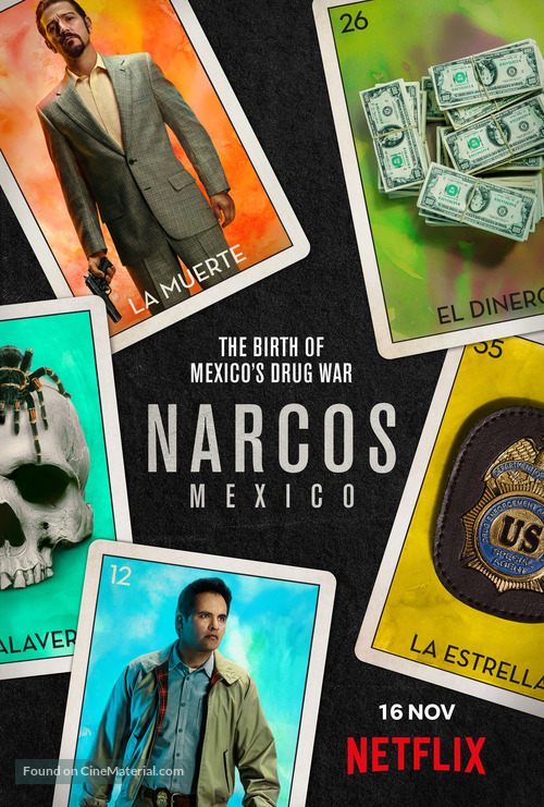 """""""Narcos: Mexico"""" - British Movie Poster"""