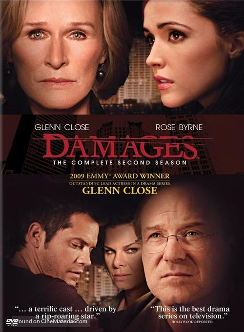 """Damages"" - DVD cover"