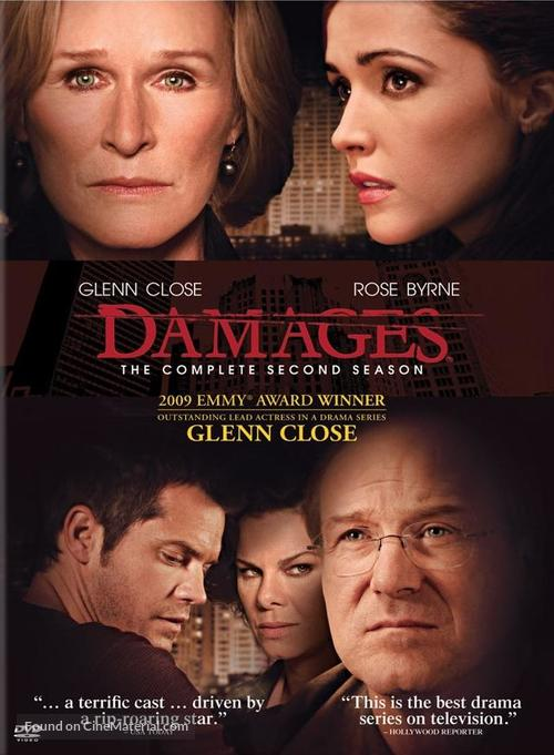 """""""Damages"""" - DVD movie cover"""