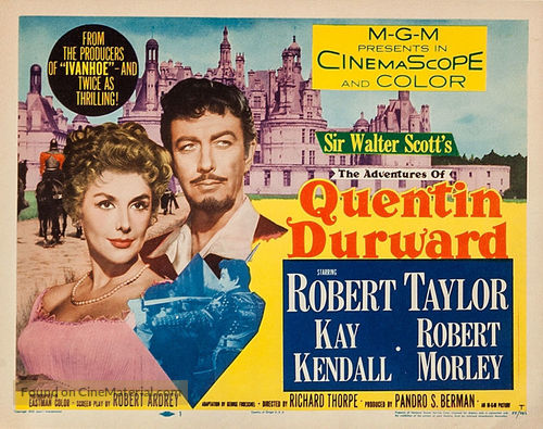 The Adventures of Quentin Durward - Movie Poster