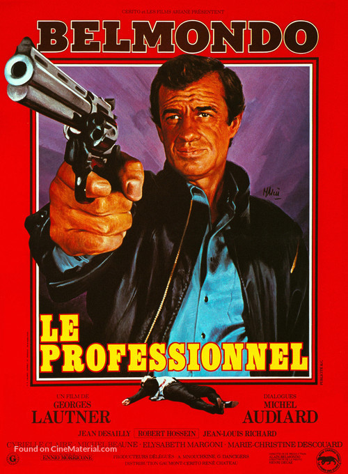 Le professionnel - French Movie Poster