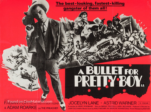 A Bullet for Pretty Boy - British Movie Poster