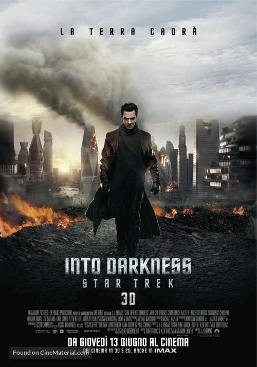 Star Trek: Into Darkness - Italian Movie Poster