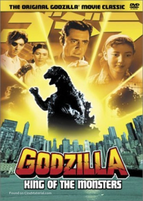 Godzilla, King of the Monsters! - Movie Cover