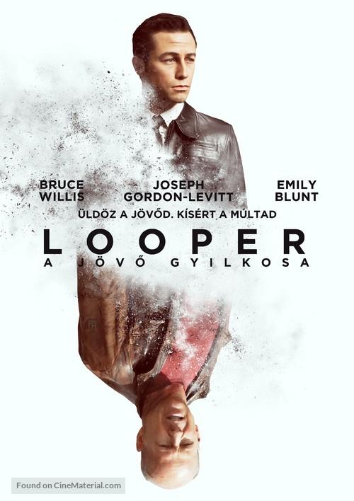 Looper - Hungarian Movie Poster