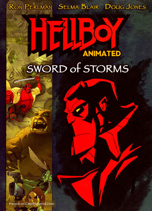 Hellboy: Sword of Storms - poster