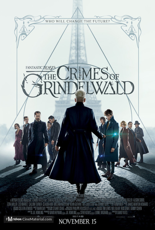 Fantastic Beasts: The Crimes of Grindelwald - New Zealand Movie Poster