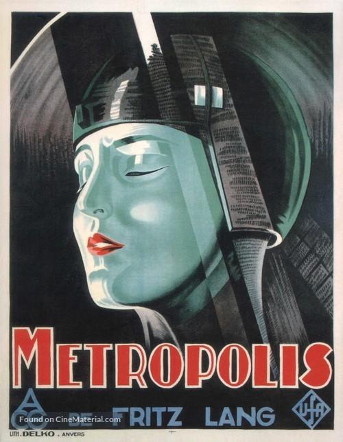 Metropolis - Belgian Movie Poster