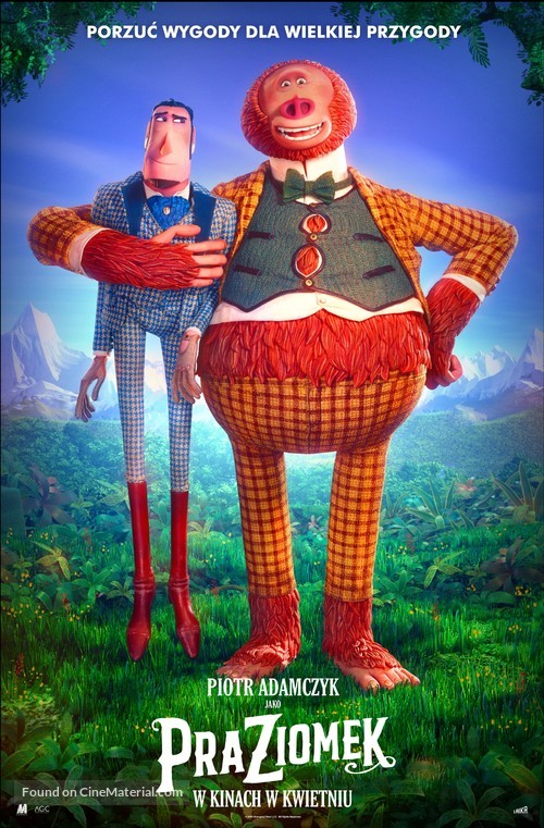 Missing Link - Polish Movie Poster