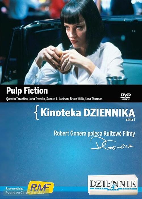 Pulp Fiction - Polish Movie Cover