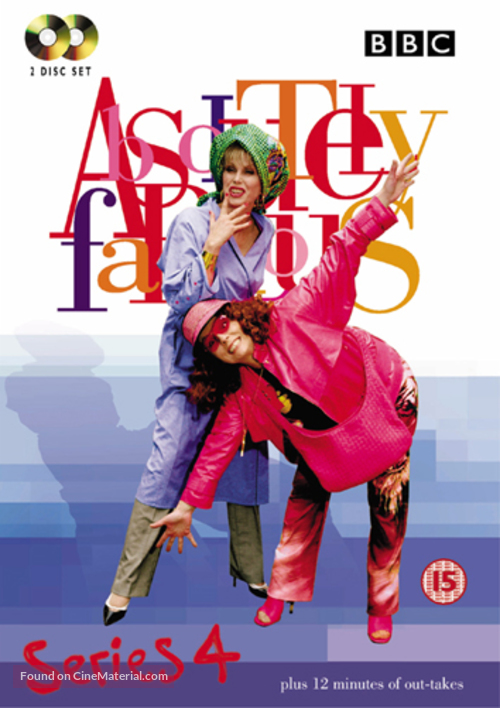 """""""Absolutely Fabulous"""" - British DVD movie cover"""