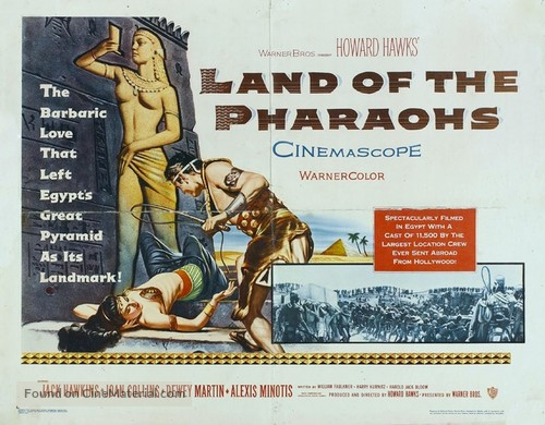 Land of the Pharaohs - Movie Poster