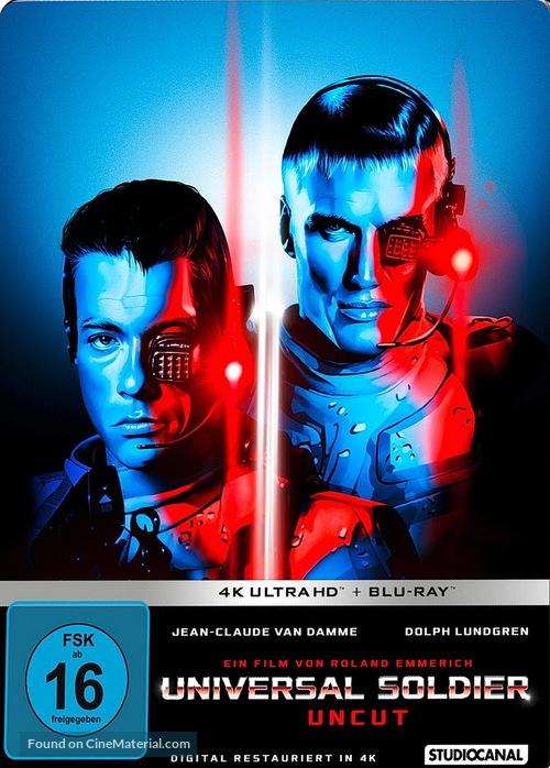 Universal Soldier - German Movie Cover