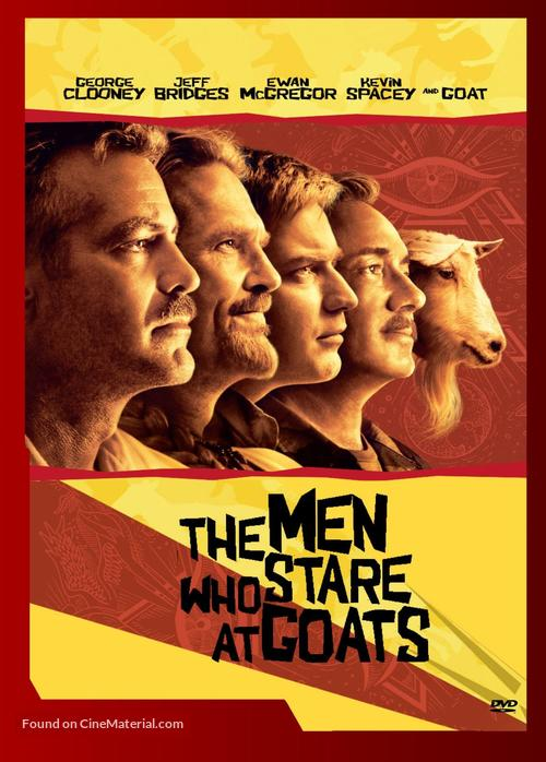 The Men Who Stare at Goats - Dutch Movie Cover