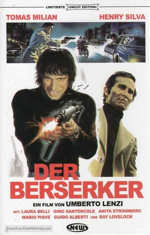 Milano odia: la polizia non può sparare - German DVD cover
