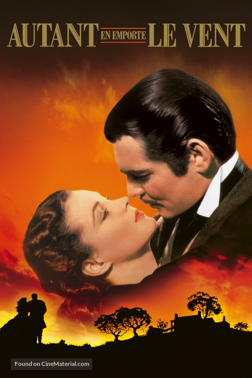 Gone with the Wind - French Movie Cover