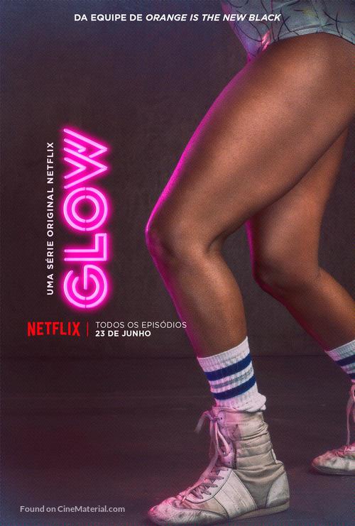 """""""GLOW"""" - Brazilian Movie Poster"""
