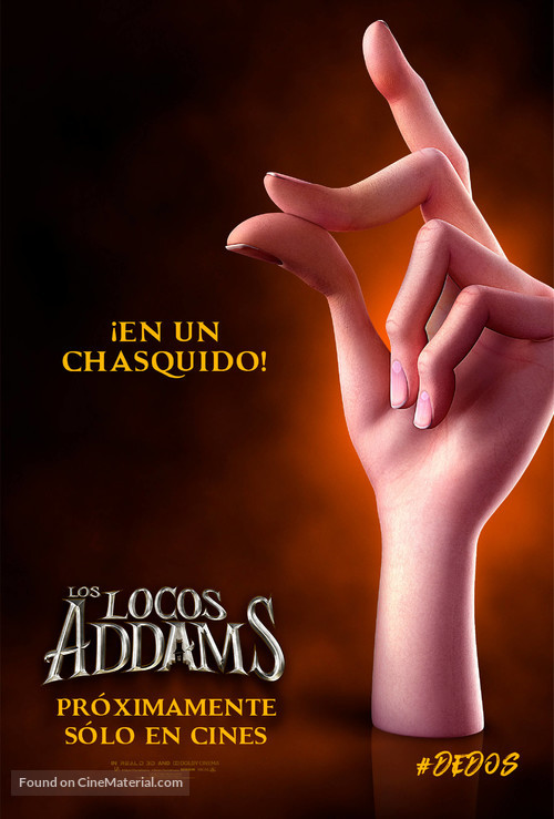The Addams Family - Argentinian Movie Poster