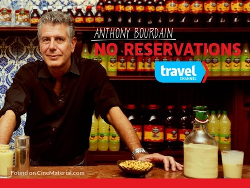"""""""Anthony Bourdain: No Reservations"""" - Video on demand movie cover"""