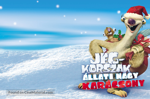 Ice Age A Mammoth Christmas.Ice Age A Mammoth Christmas Hungarian Movie Poster