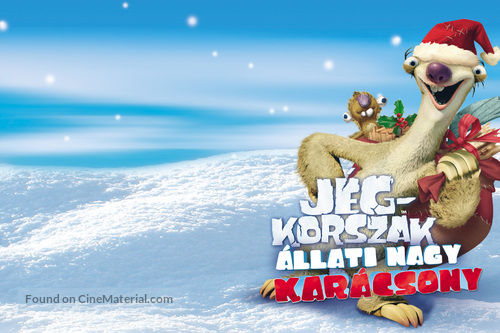 Ice Age: A Mammoth Christmas - Hungarian Movie Poster
