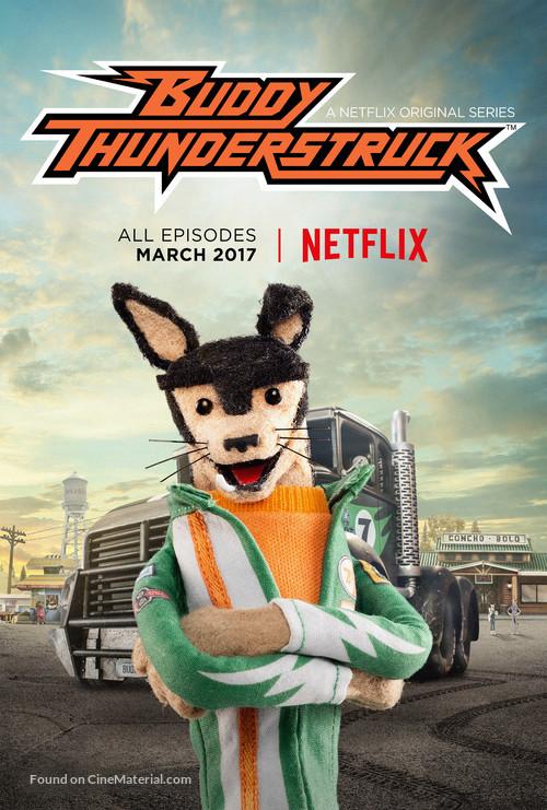 """Buddy Thunderstruck"" - Movie Poster"