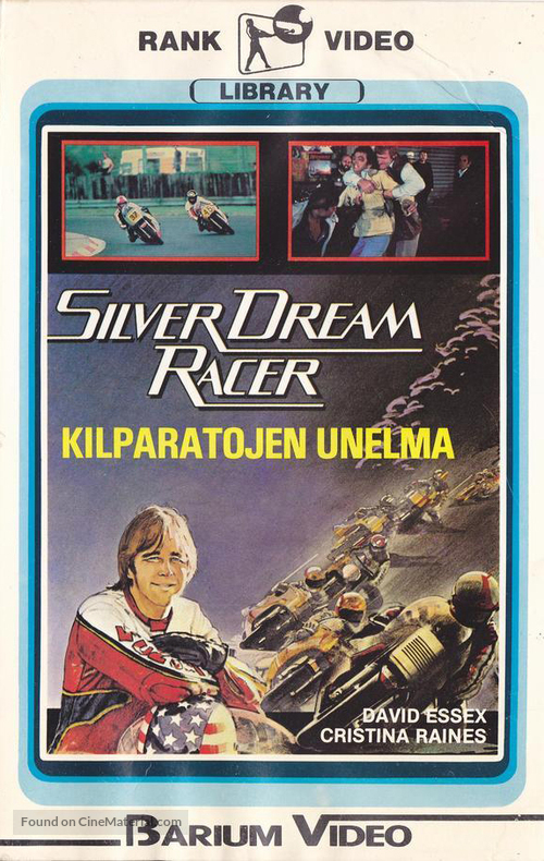 Silver Dream Racer - Finnish VHS cover