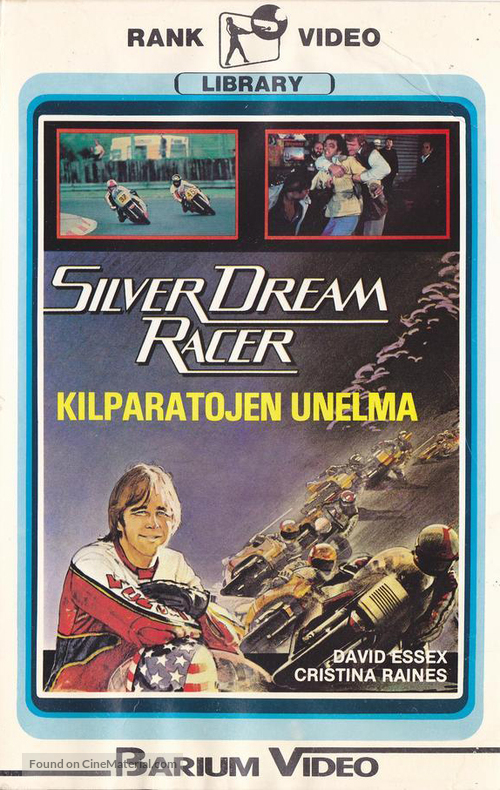 Silver Dream Racer - Finnish VHS movie cover