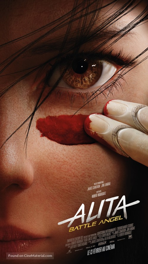Alita: Battle Angel - French Movie Poster