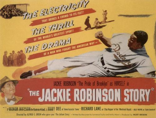The Jackie Robinson Story - Movie Poster