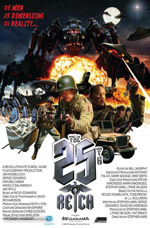 The 25th Reich - Australian Movie Poster