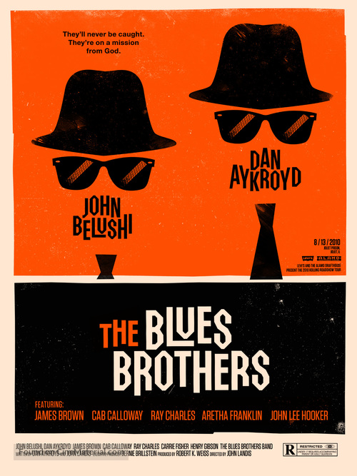The Blues Brothers - Homage poster