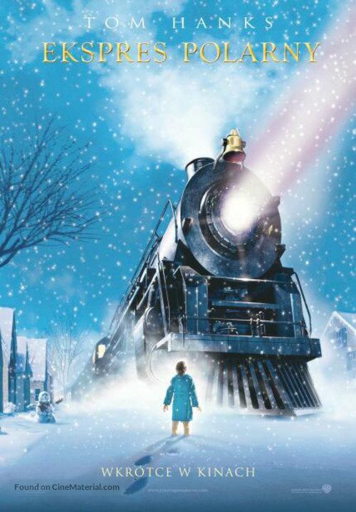 The Polar Express - Polish Teaser movie poster
