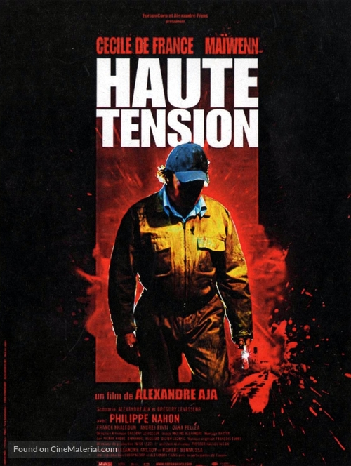 Haute tension - French Movie Poster