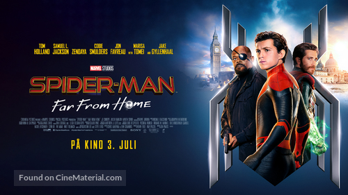 Spider-Man: Far From Home - Norwegian Movie Poster