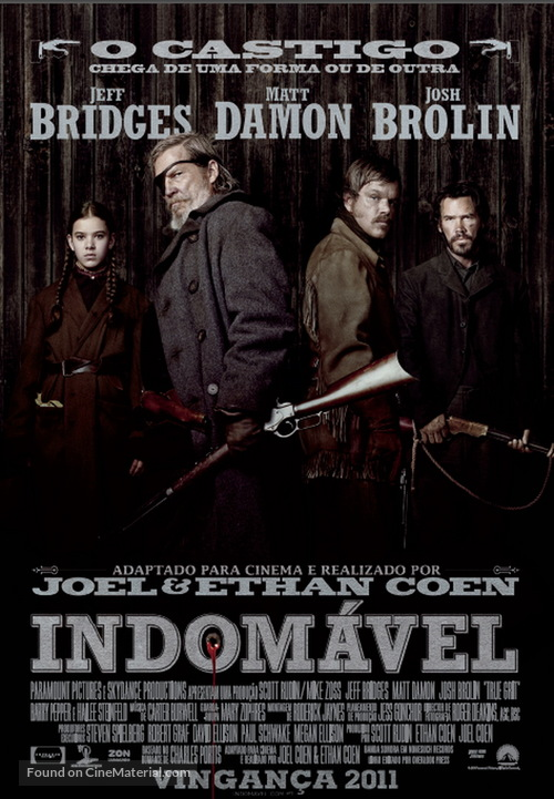 True Grit - Portuguese Movie Poster