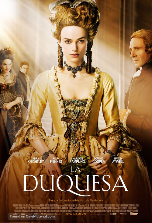 The Duchess - Mexican Movie Poster
