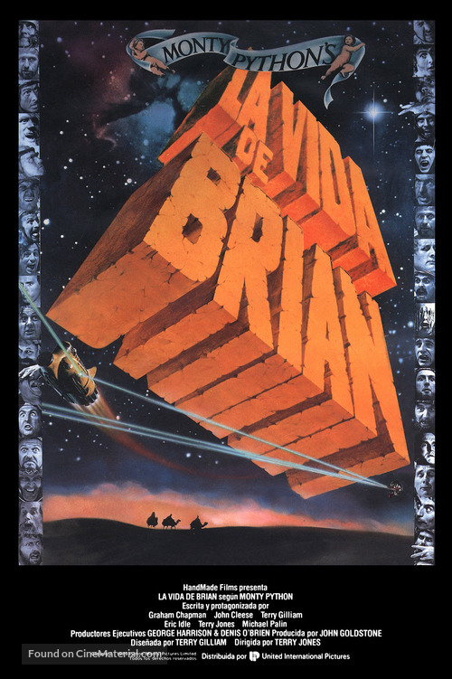 Life Of Brian - Spanish Movie Poster
