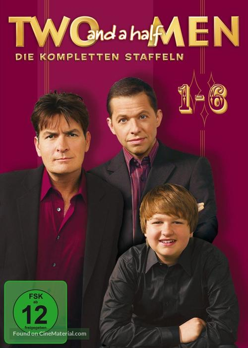 """Two and a Half Men"" German dvd cover"
