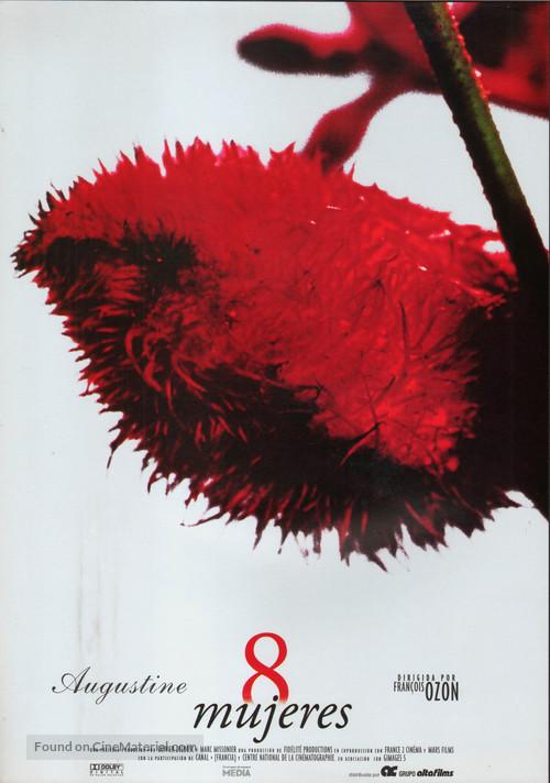 8 femmes - Spanish Movie Poster