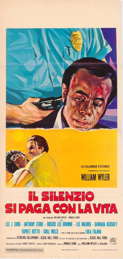 The Liberation of L.B. Jones - Italian Movie Poster